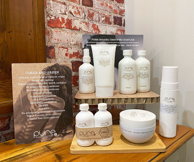 Mosh Organic Concept Salon - pure hair products